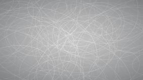 Abstract background of elipses. Abstract background of randomly arranged contours of elipses in gray colors Royalty Free Illustration