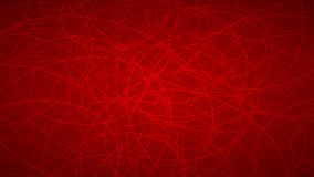 Abstract background of elipses. Abstract background of randomly arranged contours of elipses in red colors Stock Photos