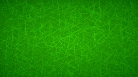 Abstract background of triangles. Abstract background of randomly arranged contours of triangles in green colors Royalty Free Illustration