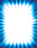 Abstract background rays blue. With glass texture effect Blue Colors on white background Stock Image