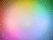 Abstract background. Rays shiny shapes Stock Photography