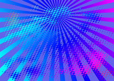 Abstract background. With rays - vector illustration Royalty Free Stock Photo