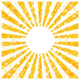 Abstract background with rays Royalty Free Stock Image