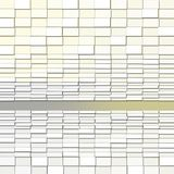 Abstract Background with Rectangle Light Blocks. Abstract Background with Rectangle Light white Blocks Stock Photo