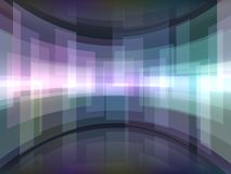 Abstract background with rectangulars. Abstract background with curved rectangulars Royalty Free Stock Photography