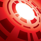 Abstract background with red abstraction - vector. Eps 10 Stock Photography