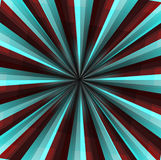 Abstract background. In red and blue colours in the form of rays and light Stock Illustration
