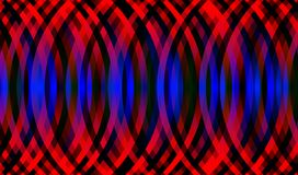 Abstract background with red blue elements. Abstract background with arched elements royalty free illustration