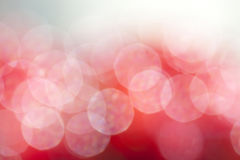 Abstract background of red bokeh Stock Photos