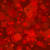 Abstract background with red bokeh circles. An Abstract background with red bokeh circles stock illustration