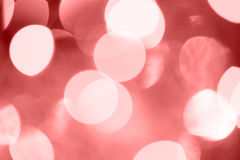 Abstract background with red bokeh. Stock Photos