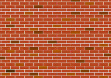 Abstract Background of red brick wall Stock Image