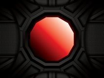 Abstract background, red brochure Stock Photography