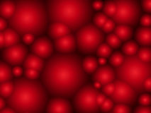 Abstract background with red circles Royalty Free Stock Image