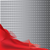 Abstract background in red color Stock Photos