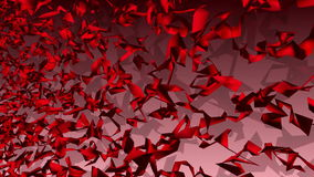 Abstract background in red color stock video footage