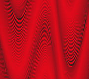 Abstract background, red curve folded Royalty Free Stock Photos