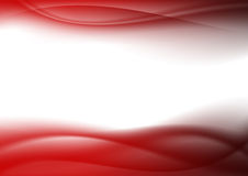 Abstract background red curves Royalty Free Stock Photography