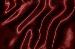 Background and wallpaper by red fabric and stripe textile. Abstract Background by red fabric, Wallpaper and texture by textile red, Top view and wave of stripe royalty free stock photography