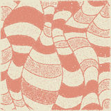Abstract background of red folds of fabric in vintage style.  royalty free illustration