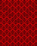 Abstract background. The abstract red background with forms royalty free illustration