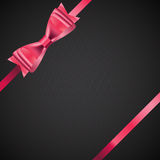 Abstract Background with Red Gift Ribbon . Vector Stock Photos