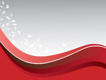 Abstract background of red on gray. Vector illustration Royalty Free Stock Image