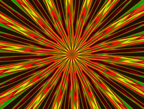 Abstract background with red and green beams Royalty Free Stock Photography