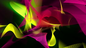 Abstract background in red,green and yellow stock footage