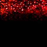 Abstract background of red hearts Stock Photos
