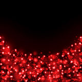 Abstract background of red hearts. The concept of Valentine's Day Royalty Free Stock Photography