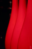 Abstract background with red lampshades Stock Photography