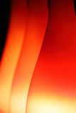 Abstract background with red lampshades Royalty Free Stock Photo
