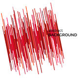 Abstract background with red lines. Diagonal geometric texture. With place for your text  on a white background Stock Photography