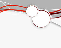 Abstract background with red lines. This is file of EPS10 format Stock Photography