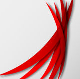 Abstract background with red lines Stock Photo