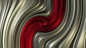 Abstract background in red and metallic color. In background stock illustration