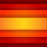 Abstract background with red and orange layers Stock Image