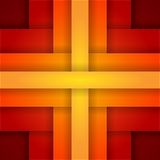Abstract background with red and orange layers Royalty Free Stock Photography