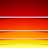 Abstract background with red and orange layers Stock Photography