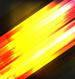 Abstract background with red and orange line Stock Image