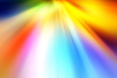Abstract background in red, orange, yellow, blue and green colors Royalty Free Stock Photo