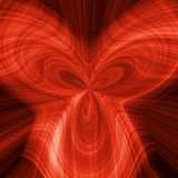 Abstract background with a red pattern Stock Photography