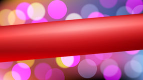 Abstract background with a red ribbon Stock Photo