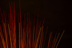 Abstract background of red sticks Royalty Free Stock Photography