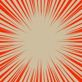 Abstract background with red sun rays. Vector. Abstract background with red sun rays. Vector Stock Images