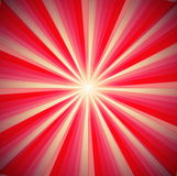 Abstract background. In red tones in the form of rays and light Royalty Free Stock Photos