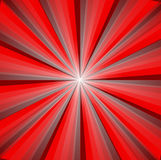Abstract background. In red tones in the form of rays and light Royalty Free Stock Images