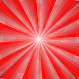 Abstract background. In red tones in the form of rays and light Royalty Free Stock Image