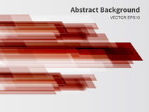 Abstract background. Red abstract background with transparent rectangular shapes Royalty Free Stock Images